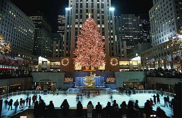 Christmas Tree In New York Rockefeller Center 2017