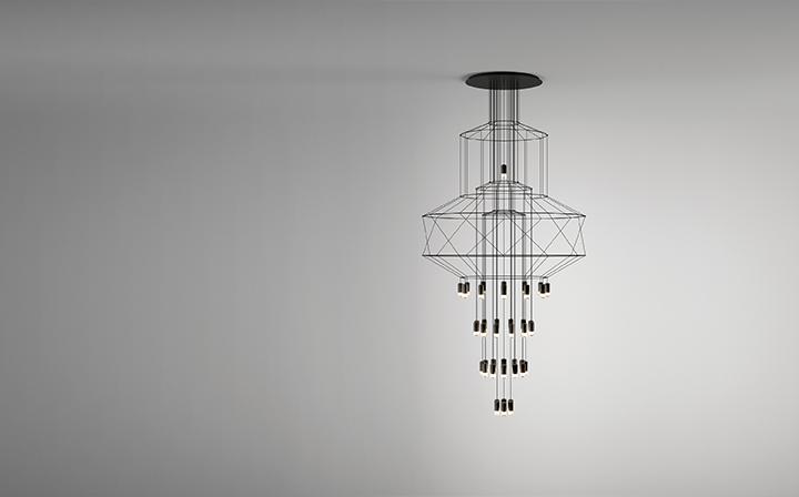 Imagen lampara WIREFLOW de VIBIA
