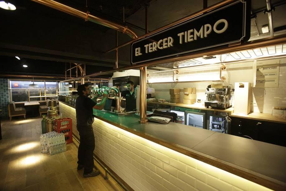 magen iluminación  de los gastrobares del mercado de abastos de Vitoria