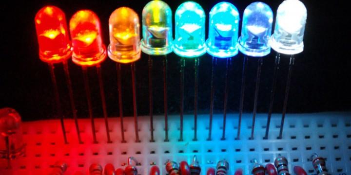 Arcoiris LED