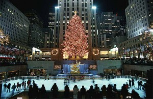 Rockefeller Encencido navidad